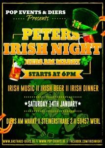 Peters irish night flyer